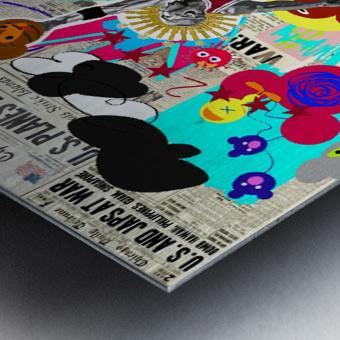 Black Jesus Metal print