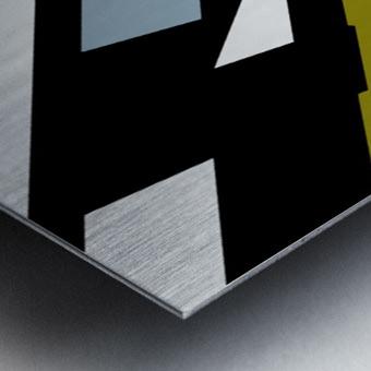 Bridge  X Metal print