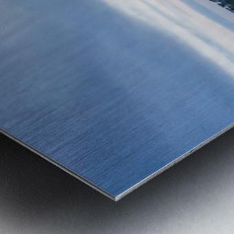 Huntington Beach Pier Panorama Metal print