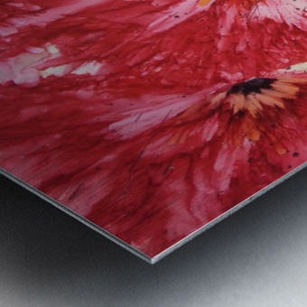Poppies Galore Metal print