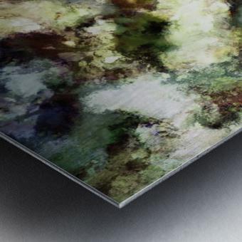 Silent erosion Metal print