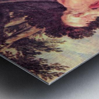 Hieronymus by Rubens Metal print