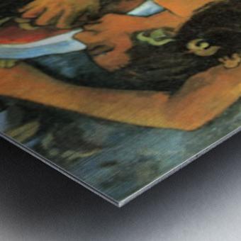 Hina Tefatau by Gauguin Metal print