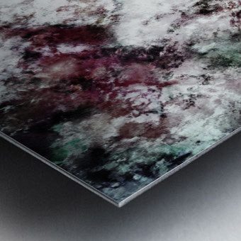 Snowcap Metal print