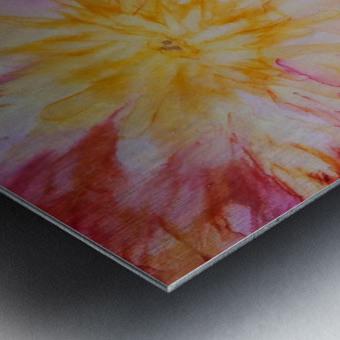 Rainbow Bloom Metal print