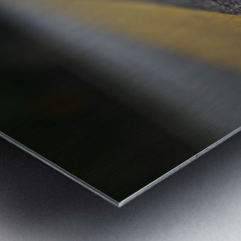 The Road Before You Metal print