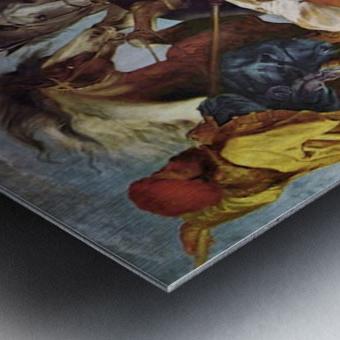 Hunting by Rubens Metal print