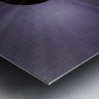 DNA Solution Metal print