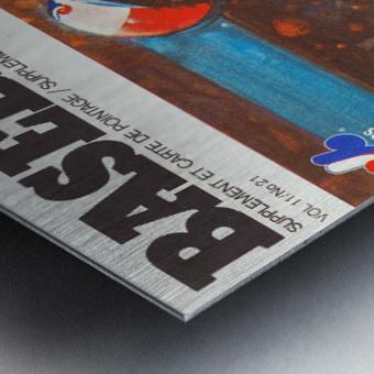 montreal canada art Metal print
