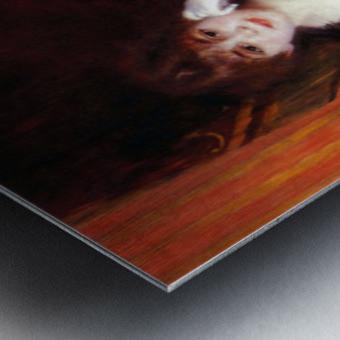 In the Loge by Renoir Metal print