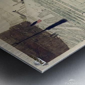 Marmortrappen Metal print