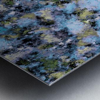 Glance Metal print