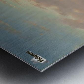 Evening on the Scheldt, Holland Metal print