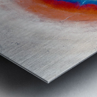 Glimpse of Black Hole No.4 Metal print