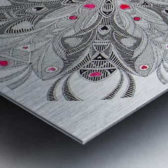 flower of hearts Metal print