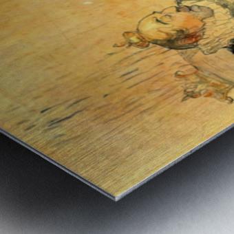 Le Bezigue by Toulouse-Lautrec Metal print
