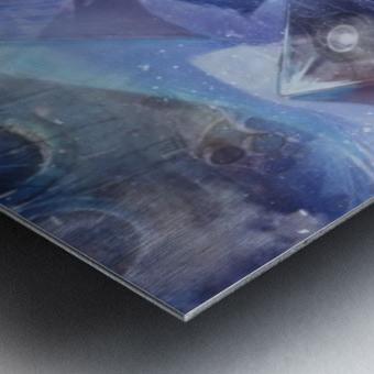 Lost Antarctida Metal print