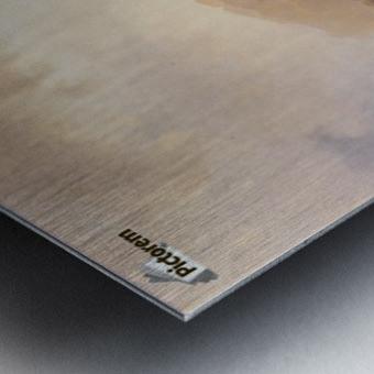 Nodhavn Ved Norskekysten Metal print