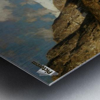 Fjordlandskap Metal print