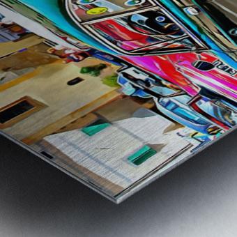 Fiat 850 Sport Coupe Metal print