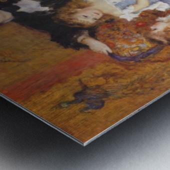 Madame Charpentier and her children Metal print