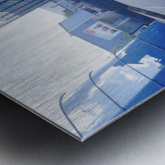 landspace Metal print