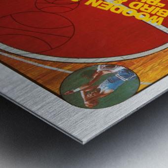 1987 nbc college basketball dick enberg al mcguire nbc sports ad Metal print