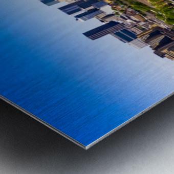Atlanta GA  Panoramic Skyline 0618 Metal print