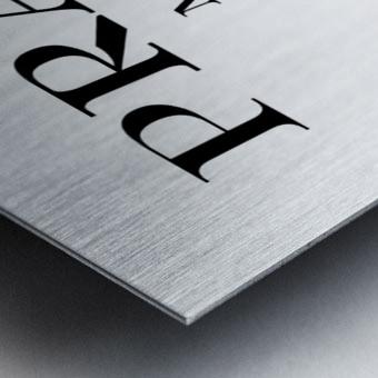 Prada Marfa Mileage Metal print