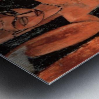 Modigliani - Caryatid -3- Metal print