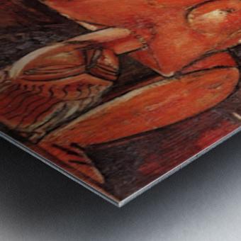 Modigliani - Caryatid -5- Metal print
