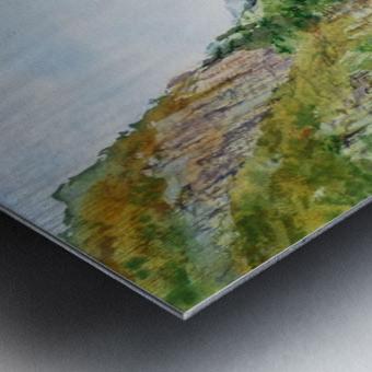 Norway Fjord Metal print