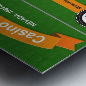 Earn Money From Online Casino Metal print