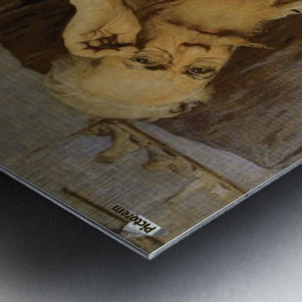 Autorretrato Metal print