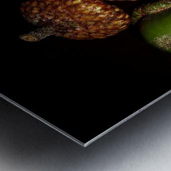 Acorn arrangement Metal print