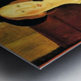 Modigliani - Portrait of Thora Klinckowstroem Metal print