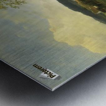 Landschaft in Hessen Metal print