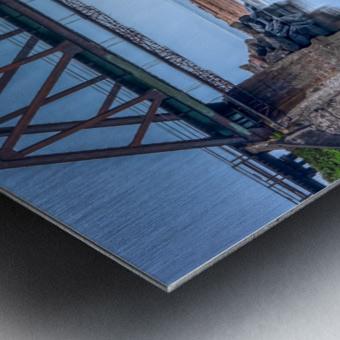 Vision double Metal print