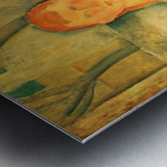 Modigliani - The beautiful merchant Metal print