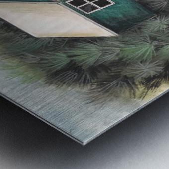 Collection BERMUDA- Stilt house Impression metal