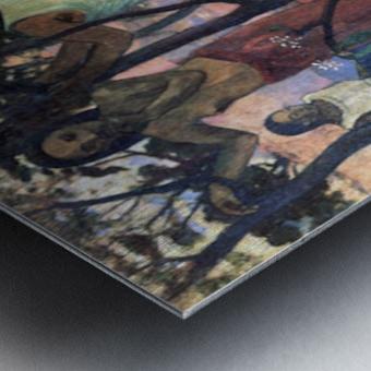 Nava Nava Mehana by Gauguin Metal print