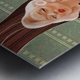Kisses Metal print