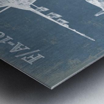 fa18 Metal print