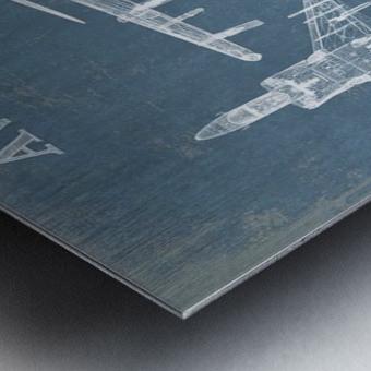 harrierII Metal print