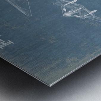 nighthawk Metal print