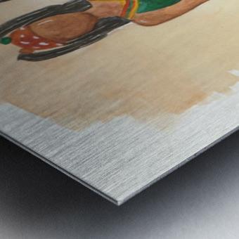 Clovers Metal print