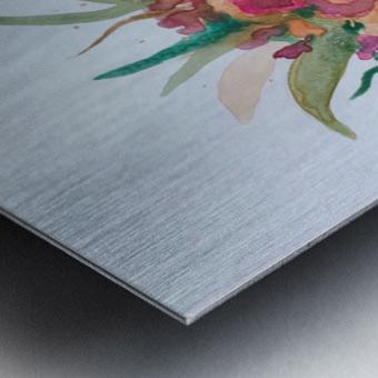 Crowned  Metal print