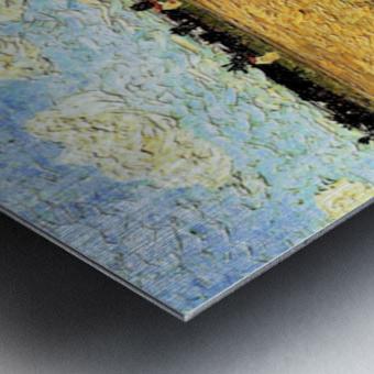 Ploughed Field by Van Gogh Metal print