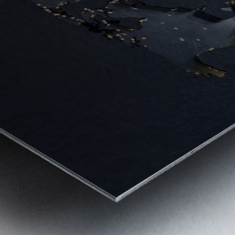 Dark Continent Jardia Metal print