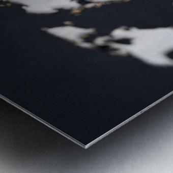 Dark Continent Fadana Metal print